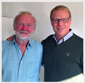 Gillis Herlits och Robert Andersson